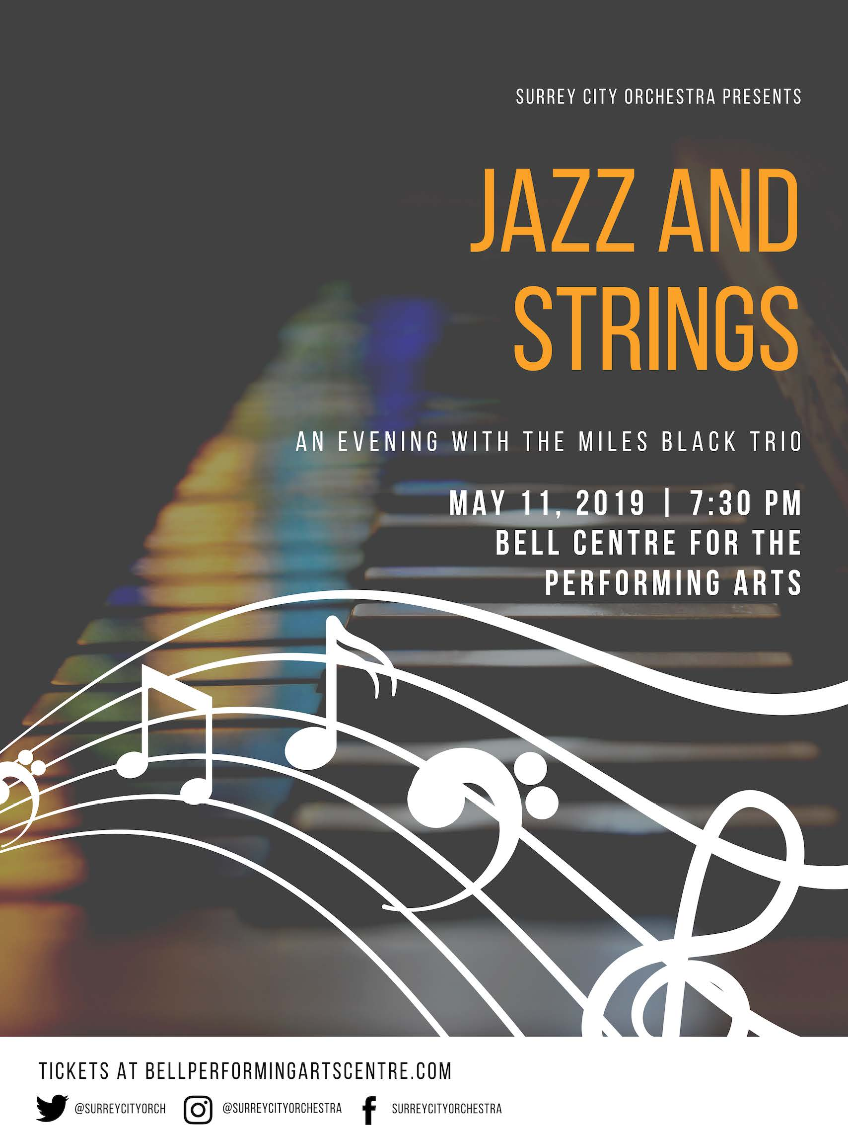 Jazz and strings - poster_